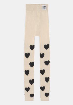 HEARTS UNISEX - Legging - off white