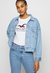 Hollister Co. - Print T-shirt - white - 3