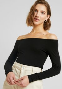 Even&Odd - BASIC - Long sleeved top - black - 3