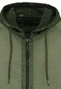 camel active - Zip-up sweatshirt - leaf green - 6