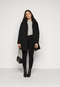 City Chic - COAT SWEET DREAMS - Classic coat - black - 1