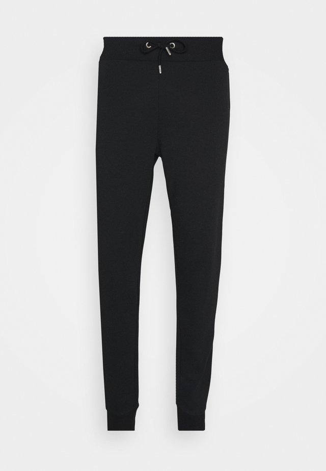 BASIC SLIM FIT JOGGERS - Pantalones deportivos - black
