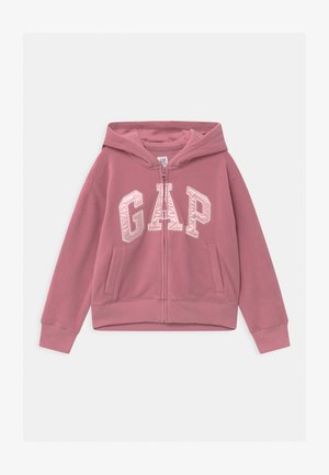 GIRL LOGO - Fleece jacket - heather rose