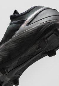 Nike Performance - PHANTOM VISION 2 CLUB DF FG/MG - Moulded stud football boots - black - 5