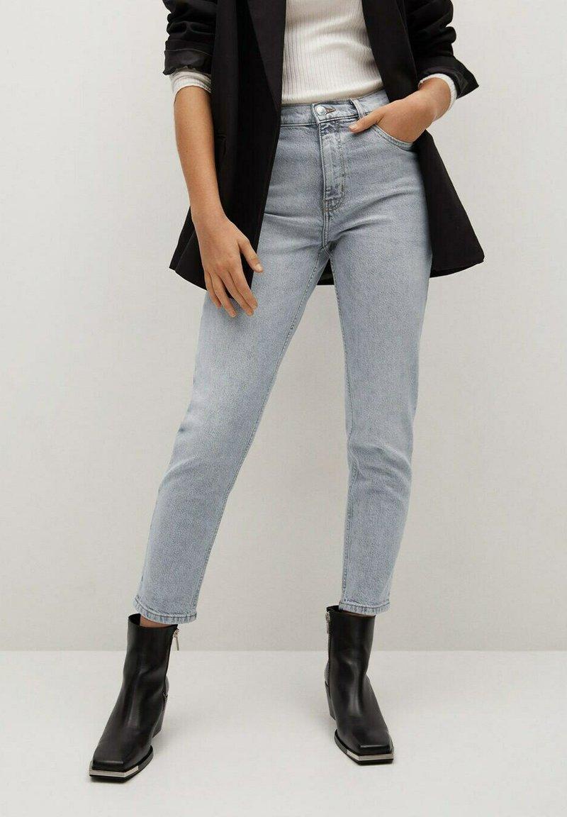 Mango - Slim fit jeans - grijs denim