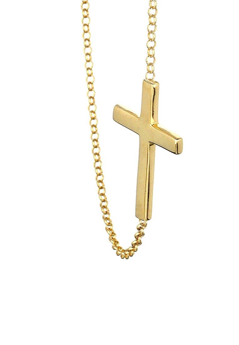 Clean And Classic Classic Accessories Elli KREUZ  Necklace goldfarben 4T5jsiKzB b18q3EQGN