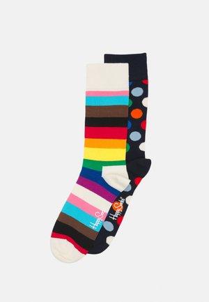 BIG DOT PRIDE STRIPE 2 PACK UNISEX - Socks - multi