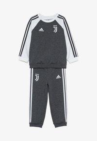 adidas Performance - JUVE - Dres - dark grey heather/cream white - 6