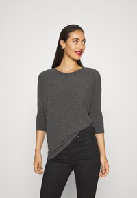ONLY - ONLGLAMOUR - Strickpullover - dark grey /  melange - 0