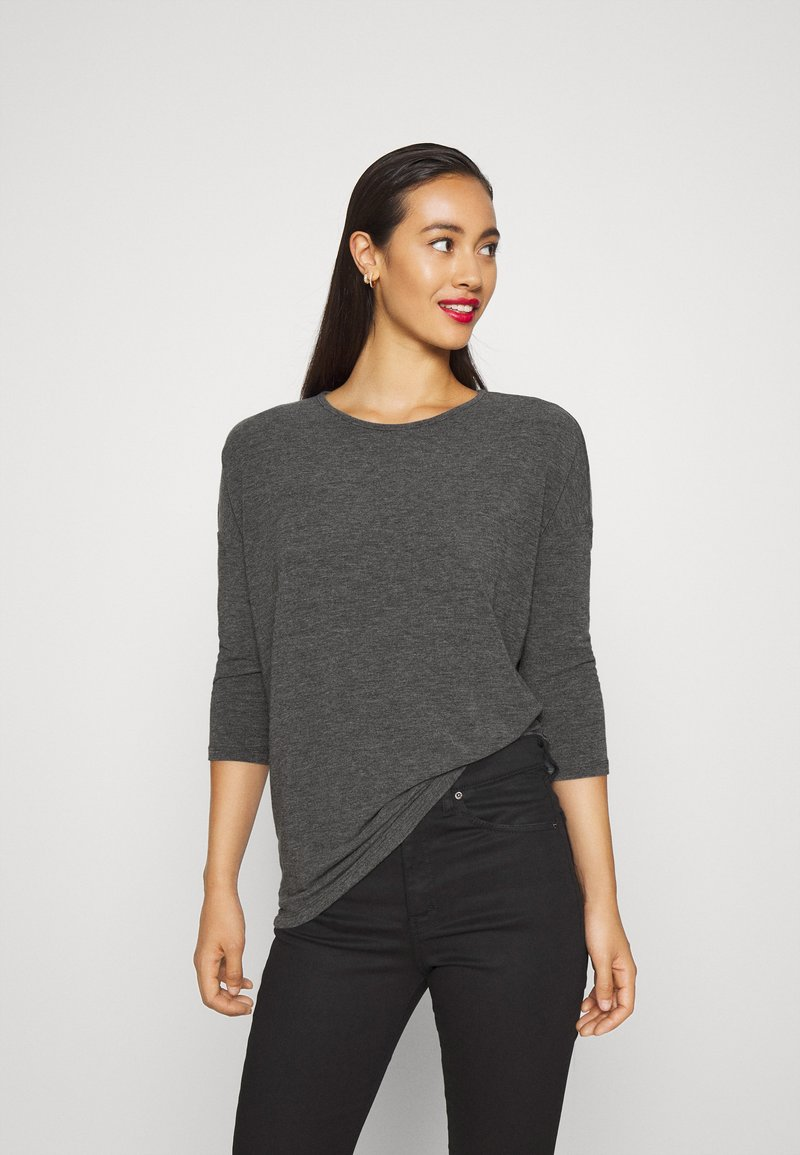 ONLY - ONLGLAMOUR - Strickpullover - dark grey /  melange