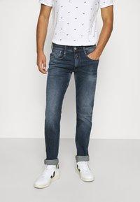 Replay - ANBASS - Straight leg jeans - dark blue denim - 0