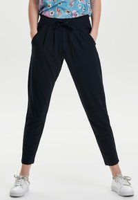 JDY - JDYCATIA PANTS - Trousers - dark blue - 0
