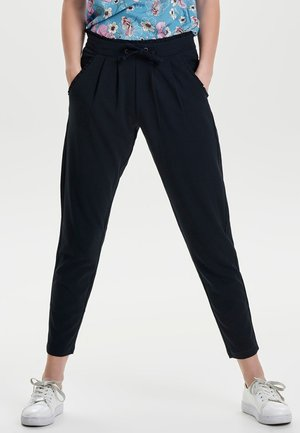 JDYCATIA PANTS - Kangashousut - dark blue