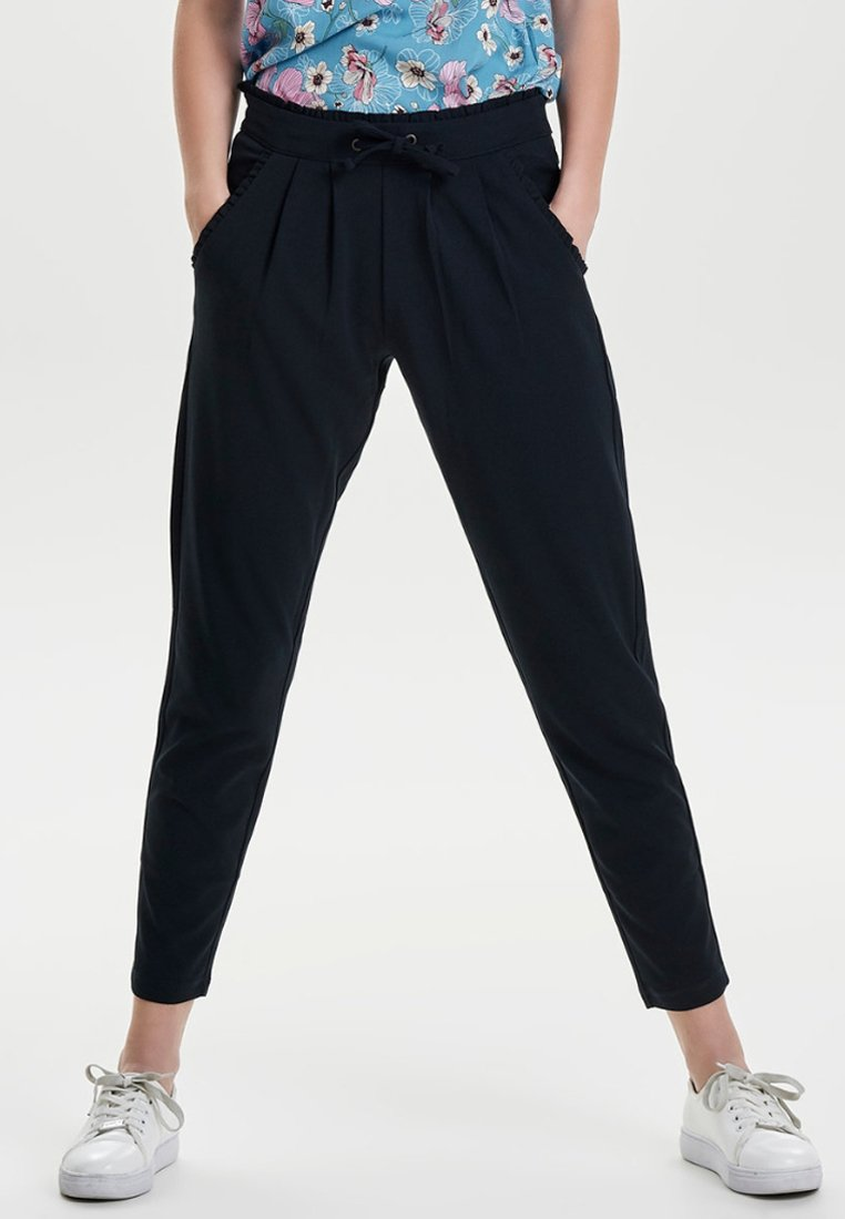 JDY - JDYCATIA PANTS - Trousers - dark blue