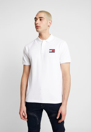BADGE - Polo - classic white