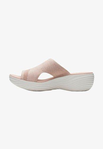 Sandalias de cuña - light pink