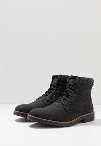 Rieker - Lace-up ankle boots - schwarz/granit - 2