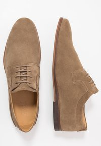 Zign - LEATHER - Lace-ups - taupe - 1