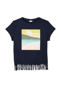 s.Oliver - Print T-shirt - navy - 2