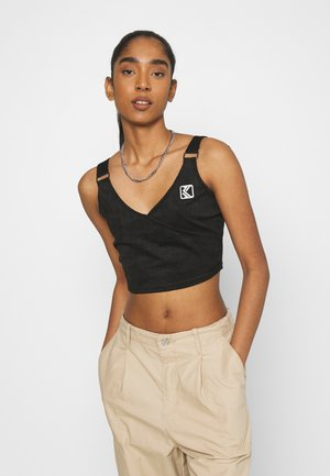 CROP - Top - black