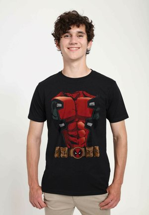 MARVEL UNISEX DEADPOOL ARMOR  - T-shirt print - black