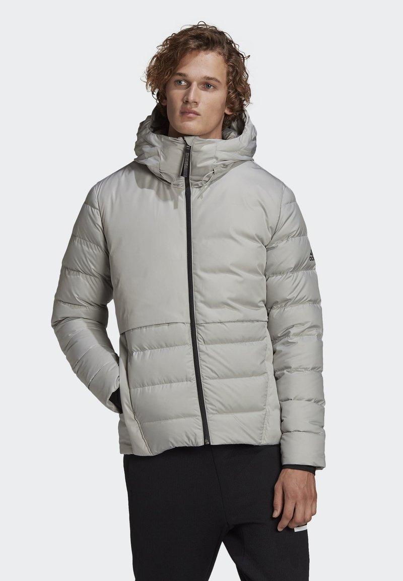 adidas Performance - URBAN COLD.RDY PRIMEGREEN OUTDOOR DOWN JACKET - Down jacket - grey