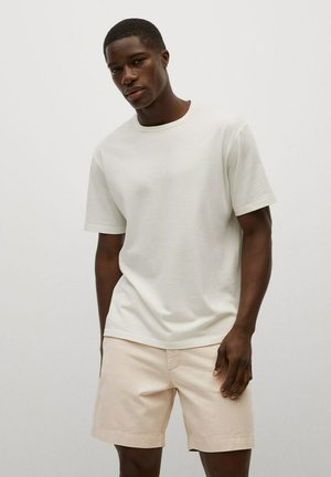 SUKRU-I - Shorts di jeans - weiß