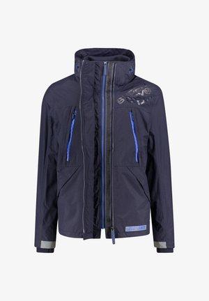 HOODED POLAR WIND ATTACKER - Training jacket - dark blue