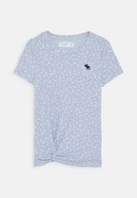 Abercrombie & Fitch - T-shirt print - blue ditsy - 0