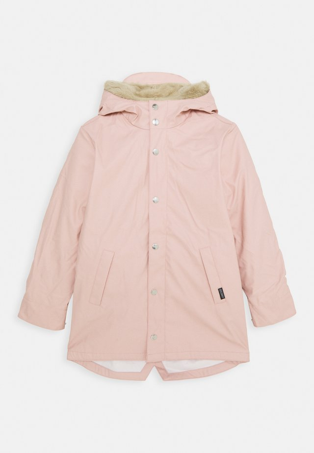 SNAKE PIT 2-IN-1 UNISEX - Parka - evening pink/safari