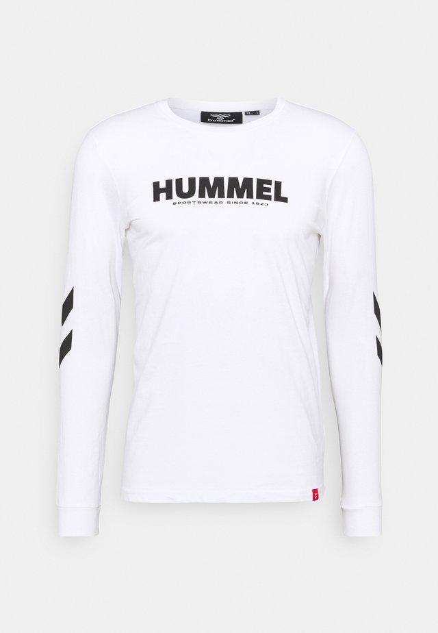 LEGACY - T-shirt à manches longues - white