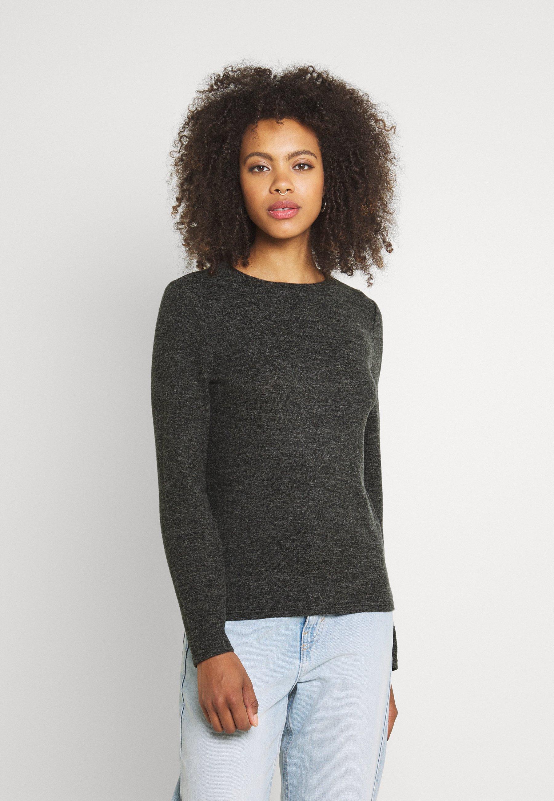 Women PCPAM O NECK - Long sleeved top