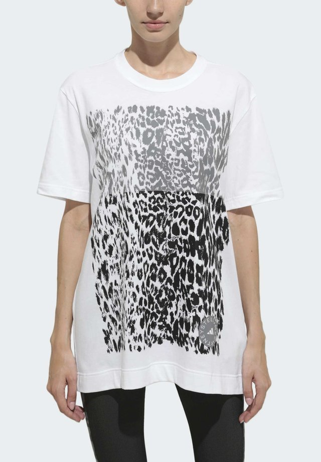 COTTON GRAPHIC T-SHIRT - T-shirt med print - white