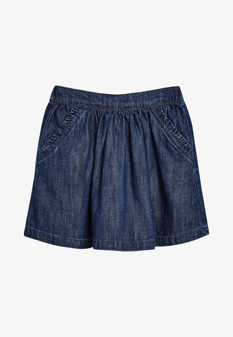 Next - A-line skirt - mottled blue