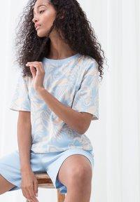 mey - Pyjama set - dream blue - 3