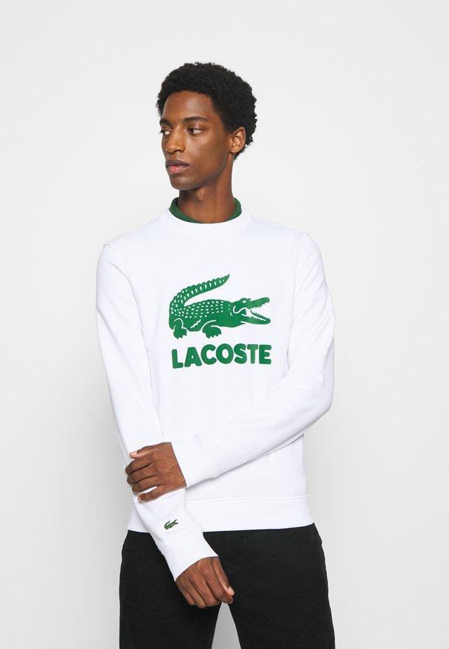 Sweatshirt - weiß