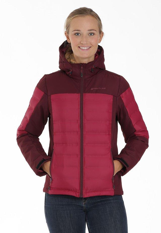 ZIGGA - Ski jacket - anemone