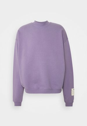 PURPLE OVERSIZED HIGHNECK - Collegepaita - purple