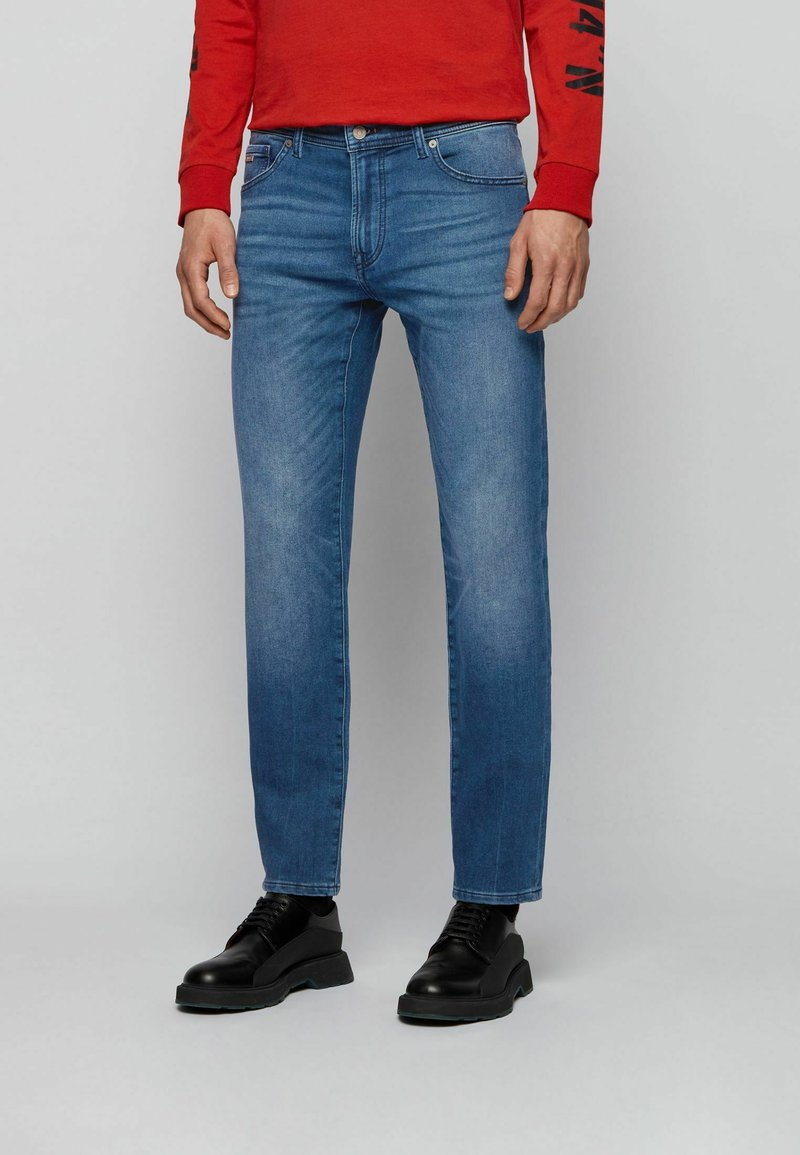 BOSS - MAINE - Straight leg jeans - blue