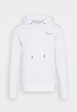 KNOWLEDGE TRANSFER HOOD - Sweatshirt - bright white