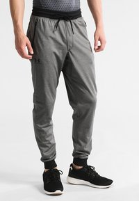 Under Armour - SPORTSTYLE - Tracksuit bottoms - carbon heather - 0
