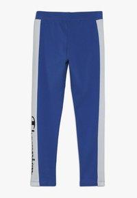 Champion - CHAMPION X ZALANDO COLORBLOCK LOGO  - Leggings - blue/white - 1