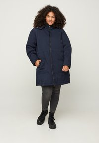Zizzi - Winter coat - dark blue - 1
