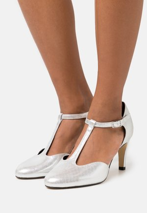 WOMS - Classic heels - silver