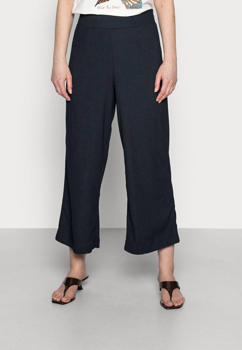 Opus - MAHILA - Trousers - mystic blue