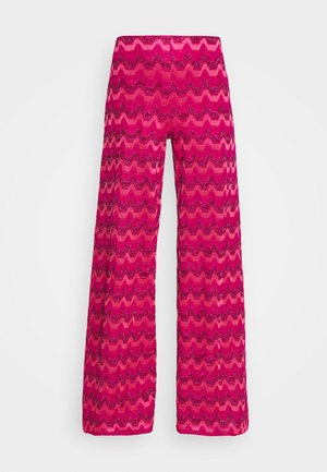 TROUSERS - Kalhoty - hot pink