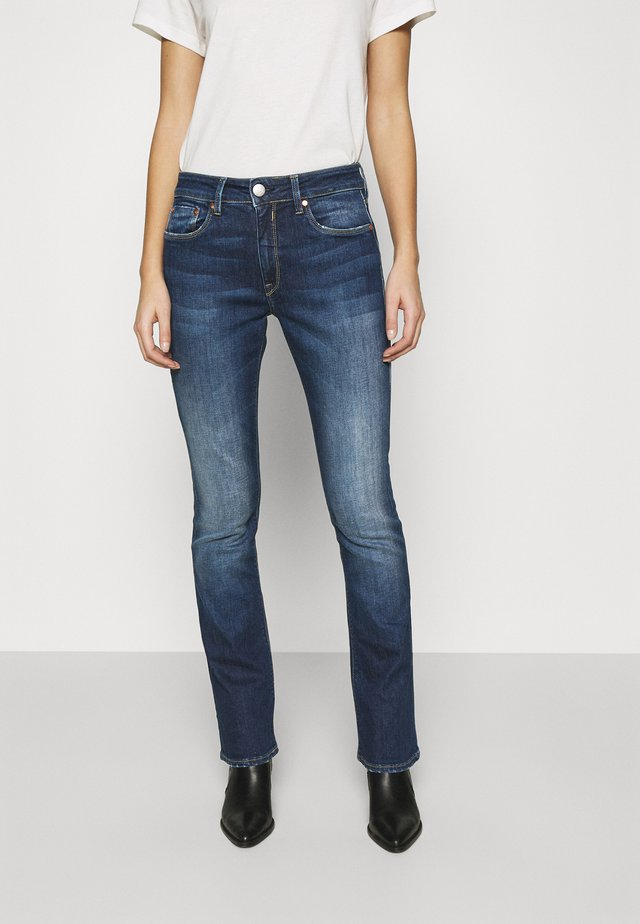 SUPER BOOT - Jeans Bootcut - blue desire