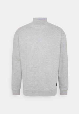 FUNNEL NECK CREW - Sweatshirt - grey