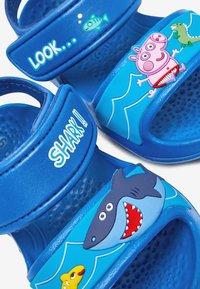 Next - PEPPA PIG POOL SLIDERS - Walking sandals - blue - 2