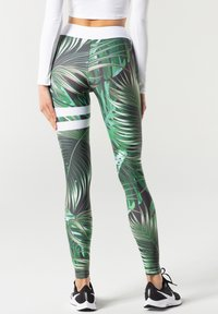 carpatree - TROPICAL TIGHTS - Leggings - green - 2